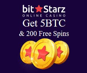 Latest bonus from BitStarz